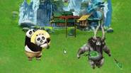 Po has to defend a peaceful village from the evil Kai, who wants to kidnap all villagers, including kids! Just get kids and other peaceful pandas and bring […]