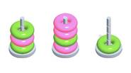 An interesting puzzle game in which you have to sort various colorful hoops in order to create stacks of the same color. There are some rules, however: you […]