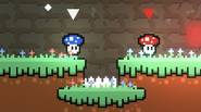 An interesting game, in which you're controlling a bunch of funky mushrooms, with the goal to reach the destination portal at the end of the level. You have […]