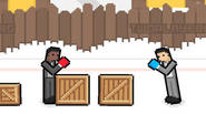 An exciting boxing game for one or two players, with similar mechanics as ROOFTOP SNIPERS and other titles. Press only one button, using boxer's movements to jump forward […]