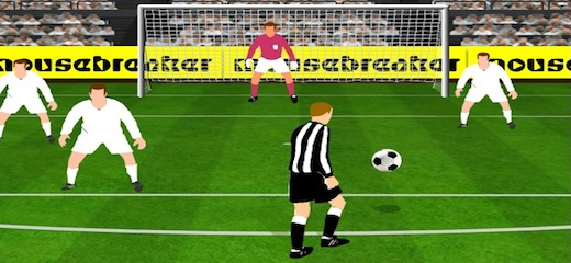 Show your volley skills – hit the ball as soon as it's passed and score the goal! Use power-ups to trick goalie and enjoy this fine football game! […]