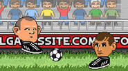 "Another awesome Big Head game. Play as Wayne Ronney, Mario Bibotelli, Cristine Ronaldo and many other ""famous"" football players in one-on-one game. Score more goals in two minutes […]"