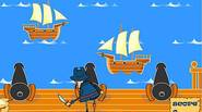Help Pirate Pete defeat the invading Armada by firing cannonballs and sinking all enemy ships. When the cannon is ready, white circle will show. The more ships you […]
