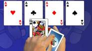 Great solitaire game. The goal is to move all cards from the outer piles to the central foundation areas. The topmost card on each pile can be moved […]
