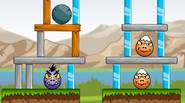 Use the wide choice of natural disasters to destroy buildings that protect the Evil Eggs. You can use earthquakes, tornadoes, meteors and other disasters. Every part of the […]