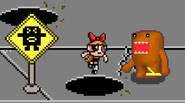 You are Domo-Kun, the famous Japanese cartoon character. The Power Puff Girls are wreaking havoc on your town. It's up to you to stop them and kick their […]