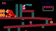 Classic arcade game from 80's, the first one featuring Mario. In Donkey Kong you have to save your girlfriend captured by giant gorilla, Donkey Kong. Climb up the […]