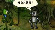 You are Ptyan, a small green creature on a mission to rescue its planet from the invasion of angry, steel robots. You must find the way to Robocity […]