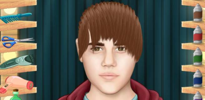 justin bieber haircut game hair cutting simulation benrutor 1547 | justin bieber real haircuts