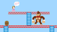 Great, twisted remake of the classic Donkey Kong game. You can play solo, or even better – two players, one as Dong and the other as Mario. This […]