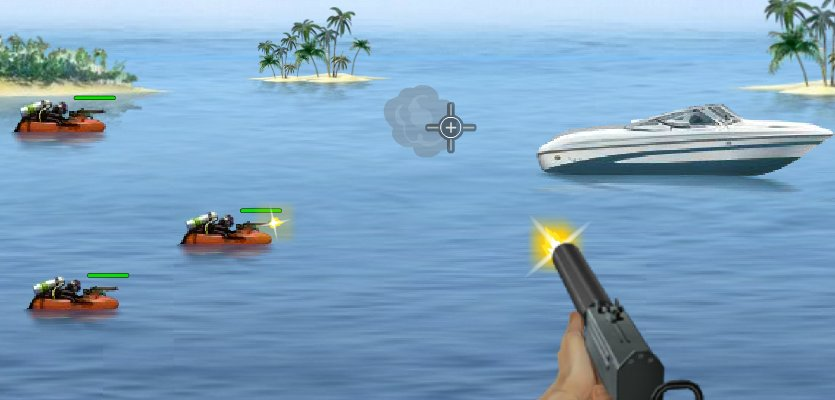 Enjoy the secret agent's life – your mission is to defend the speed boat from the attacking enemies. Shoot them on sight before they destroy your boat. Get […]