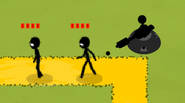 The Stickmen are attacking! Defend your positions, strategically placing various weapons along their way. Try to kill every Stickman or you'll loose. Earn money to upgrade your weapons. […]
