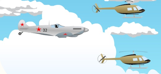 Dynamic shooting game – fly your aircraft and fight with hordes of attackers: enemy fighters, helicopters and parachuters. Don't stay in one place for too long or they […]