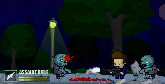 Survival is futile. The end has just begun. Kill all zombies, collect and upgrade weapons, unlock achevements to fulfill your mission. Good luck, Zombie Killer! Game Controls: Left/Right […]