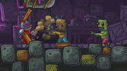 You are a cyborg on a mission is to rescue planet Zombotron from the invasion of brain-eating zombies. Shoot zombies, aiming with mouse. You can use various weapons […]