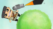 Kill all zombies on every planet, shooting the bullet and setting the correct angle and firepower. The bullet will move, according to all gravity rules (the bigger the […]